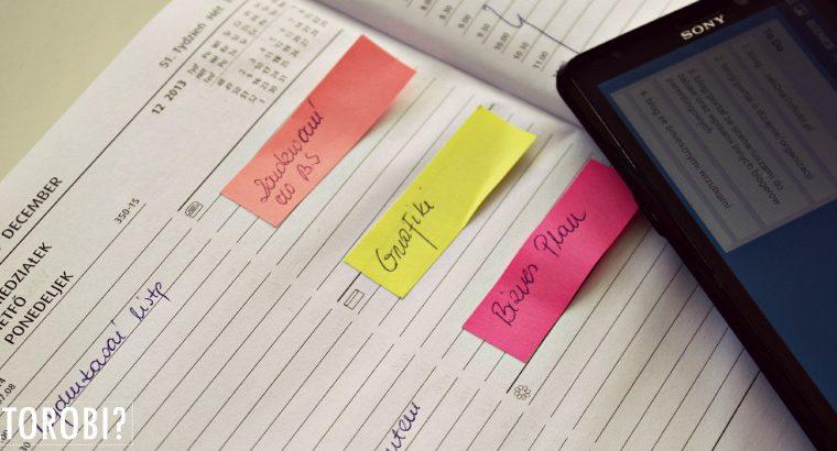 Jak planować i nie zwariować