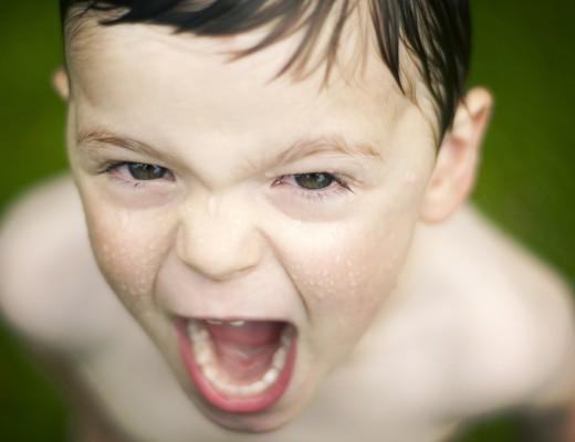 Czy krzyczysz, gdy dziecko Cię zdenerwuje?