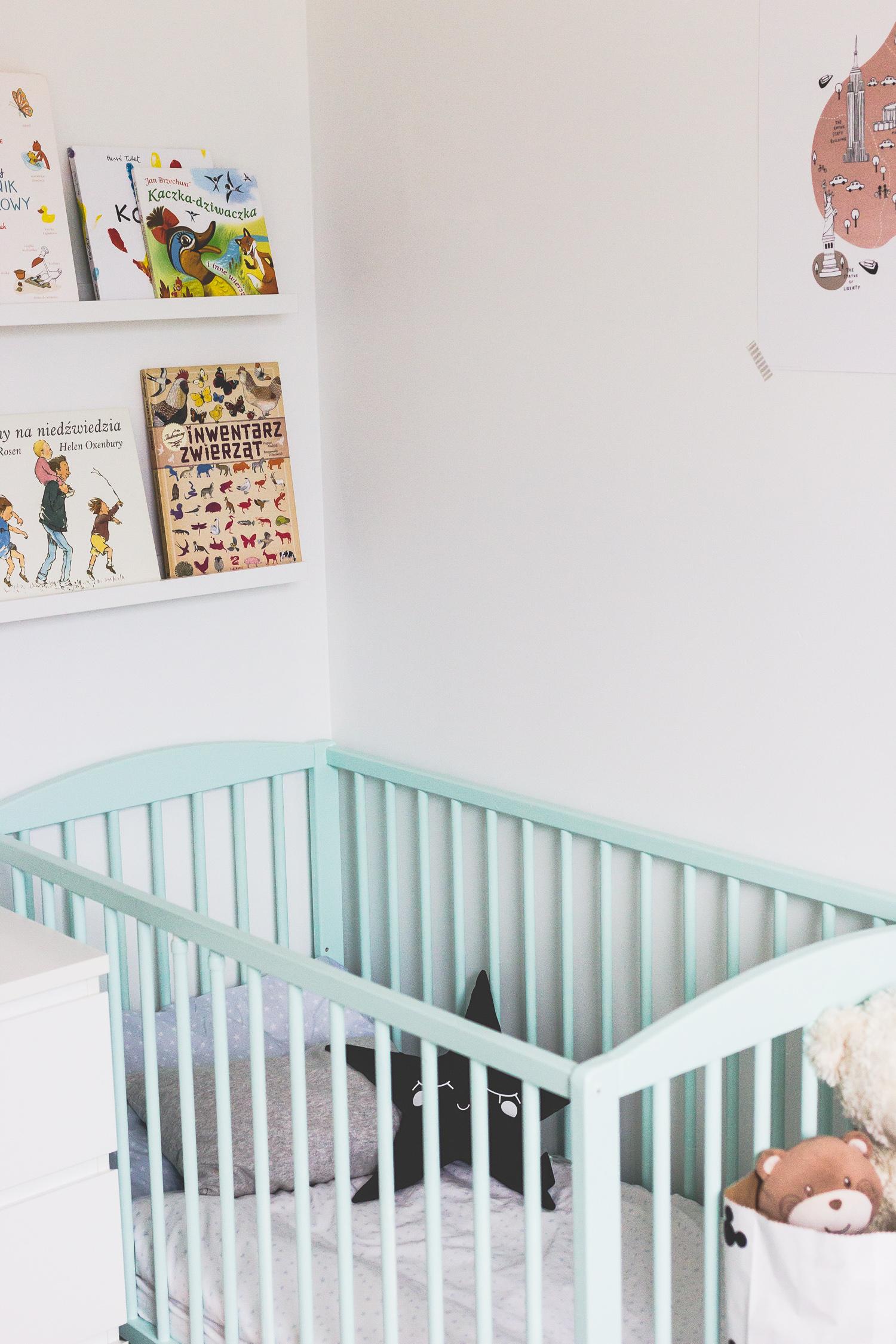 Pokój dla rodzeństwa - metamorfoza przed i po 36