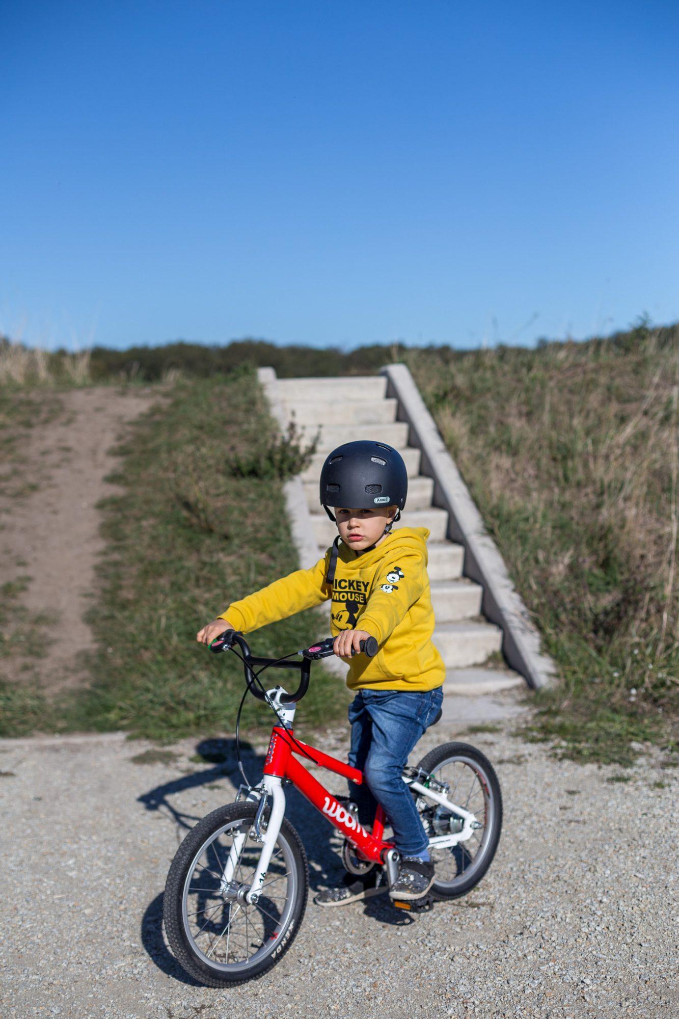lekki rower dla dziecka woom
