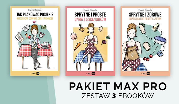 Pakiet MAX PRO - zestaw 3 ebooków